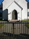 Asby kyrka, västra ingången