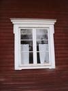Vallstuga, detalj fönster