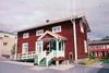 Tingshuset i Arjeplog, framsidan.