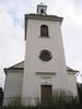 Indals kyrka, exteriör, västra fasaden.