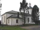 Indals kyrka, exteriör, norra fasaden.