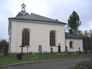 Indals kyrka, exteriör, östra fasaden.